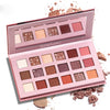 18 Color Nude Shining Eyeshadow Palette Makeup Glitter