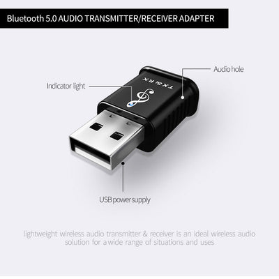2 in 1 Bluetooth Wireless Adapter-7