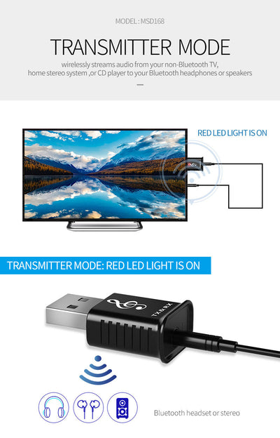 2 in 1 Bluetooth Wireless Adapter8
