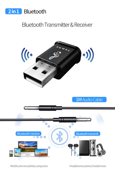 2 in 1 Bluetooth Wireless Adapter-11