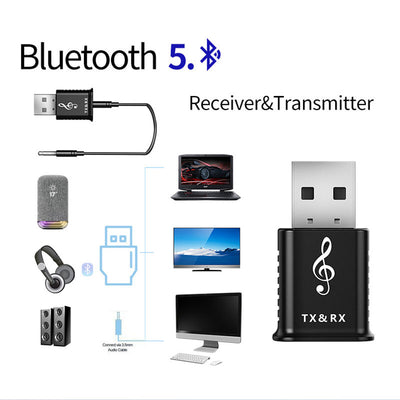 2 in 1 Bluetooth Wireless Adapter-1