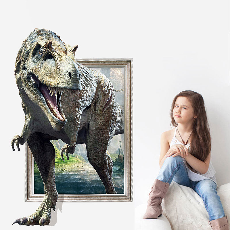 3D Dinosaur Wall Sticker Decorative Painting