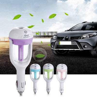 Evisnic 12V Essential Oil Car Diffuser