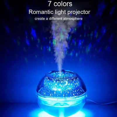 LED Night Light Ultrasonic Essential Oil Mist Humidifier Diffuser