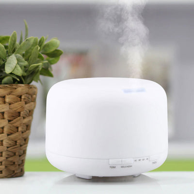 Evisnic 500ml Color Change LED Light Humidifier