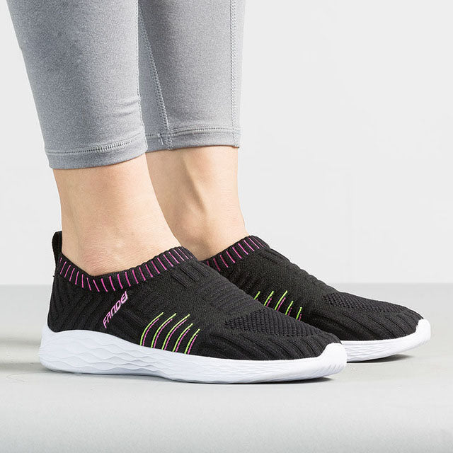 Slip-On Breathable Mesh Sneakers