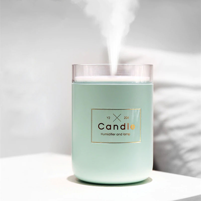 Candle Romantic Light Air Humidifier