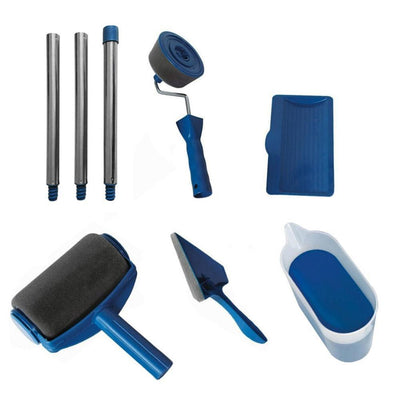 Seamless Paint Roller Brush Tools Set-8pcs