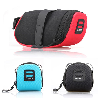 3 Color Nylon Waterproof Cycling Tail Rear Pouch Bag