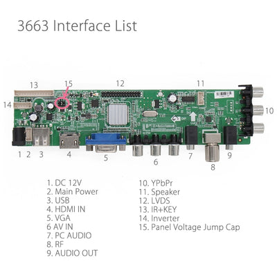 Universal LCD TV Controller Driver Board-3