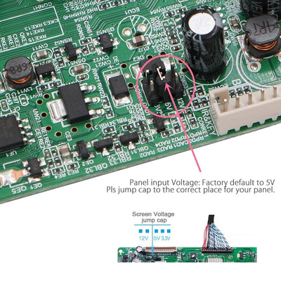 Universal LCD TV Controller Driver Board
