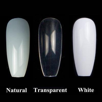 Flat Shape Full Cover Manicure Fake Nail Tips