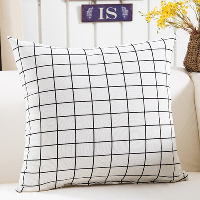 Colorful Geometry pattern Cushion cover