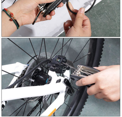 16 in 1 Multifunction Bicycle Repair Tools Kit