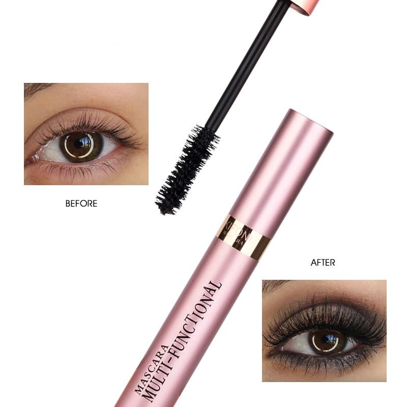 Waterproof 4D Silk Fiber Lash Mascara