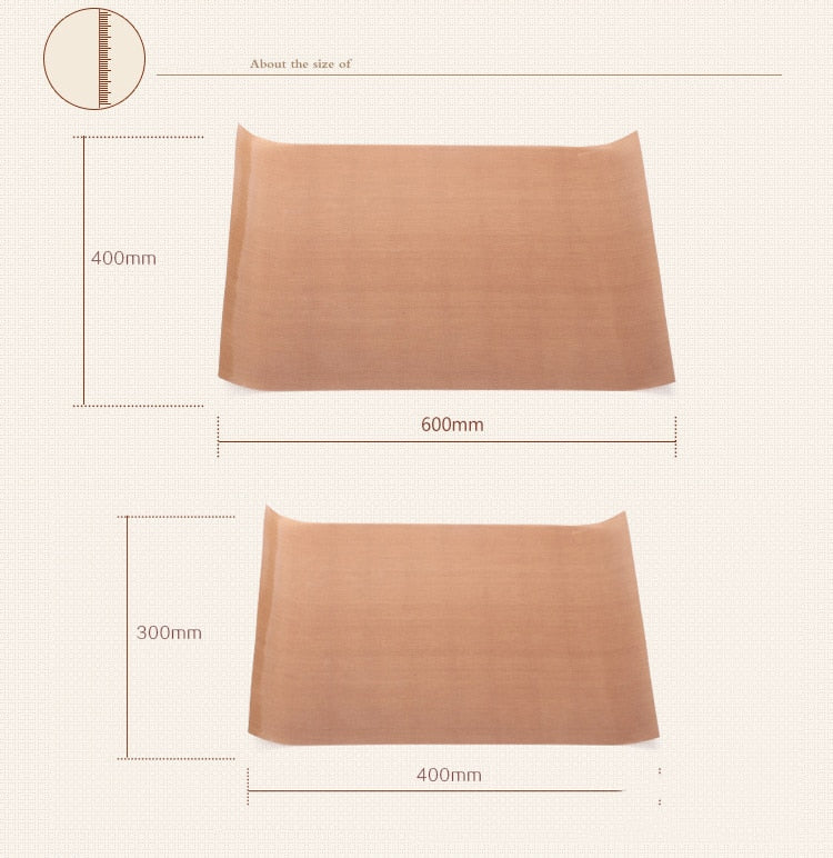 Reusable High Temperature Resistant Teflon Baking Mat