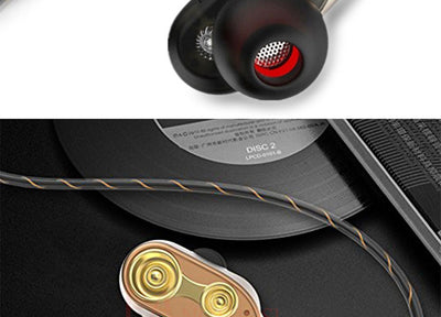 Dual Drive Stereo earphone In-ear Bass Earphones-8