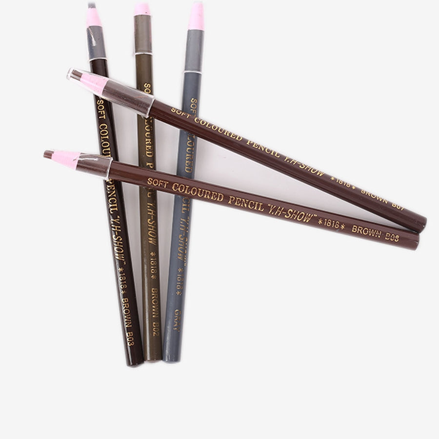 1PCS Waterproof Eyebrow Pencil Permanent Eyebrow Make Up