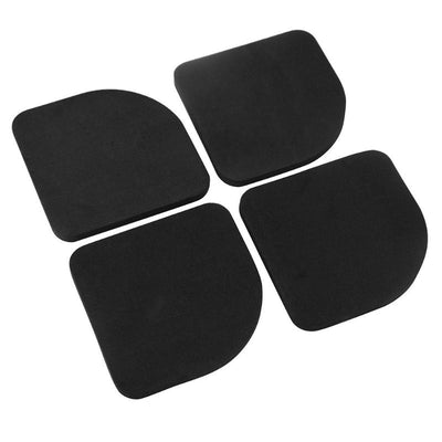 4pcs Washing Machine Anti Vibration Pad Shock Proof Non Slip Foot