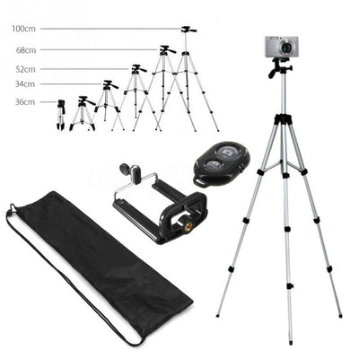 Long Tripod Bluetooth Remote Control Self-Timer Camera