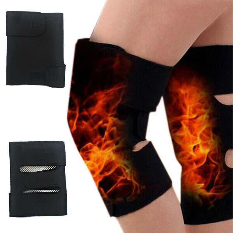 2PCS  Self-heating Knee Brace Support Pads Knee Protective