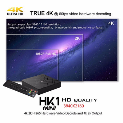 Android 9.0 Smart TV Box 4K HD Google Player
