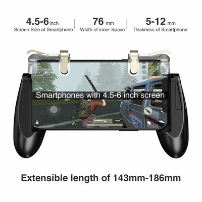 Mobile Controller for iPhone Android Phone Game Pad