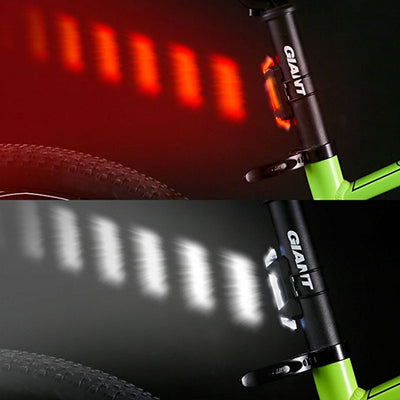 Rechargeable USB LED Safety Warning Taillight