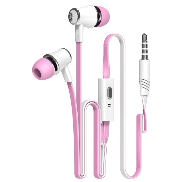 In-ear Earphone Colorful Headset Earbuds Bass Earpieces-1