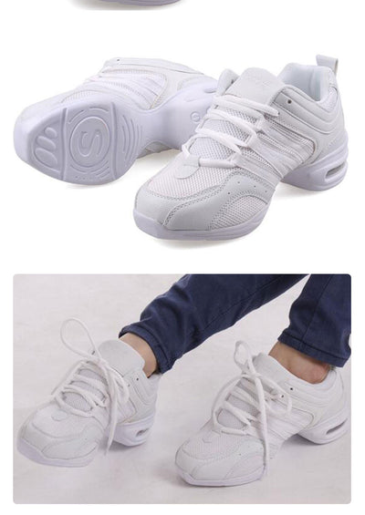 Soft Outsole Dance Sneakers Fitness Shoes