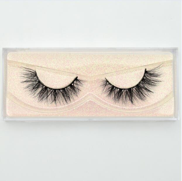 Reusable Mink Lashes 3D Mink Eyelashes