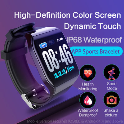 KSS901 Smart Watch Heart rate Monitor Fitness Tracker-1
