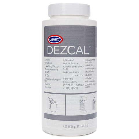 Urnex Dezcal Coffee and Espresso Machine Descaler Activated Scale Remover Powder - Saraya Coffee Roasters