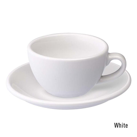 Loveramics  Egg Flat White Cup & Saucer 150ml - White