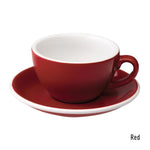 Loveramics Egg Cappuccino & Saucer 200ml - Red