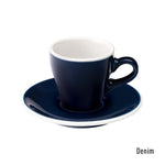 Loveramics Tulip Espresso Cup & Saucer 80ml - Denim