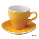 Loveramics Tulip Latte Cup & Saucer 280ml - Yellow