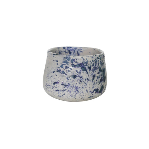 Handmade cup Speckle Blue  ( 150ml)
