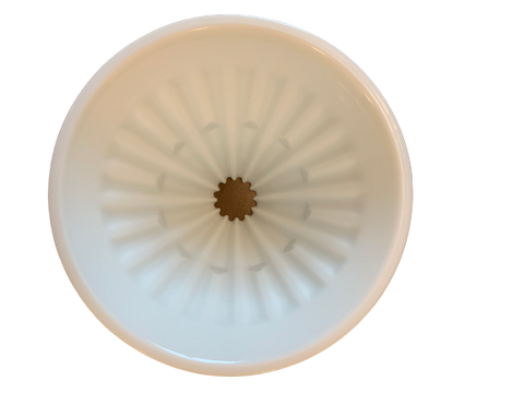 Timemore Ceramic Crystal Eye dripper - White