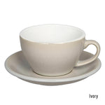 Loveramics Egg Latte & Saucer 250ml - Ivory