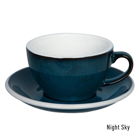 Loveramics Egg Latte & Saucer 250ml - Night Sky
