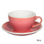 Loveramics Egg Latte & Saucer 250ml - Berry