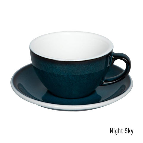 Loveramics Egg Cappuccino & Saucer 200ml - Night Sky