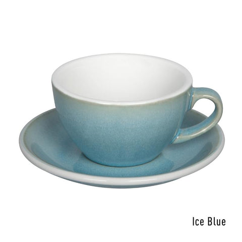 Loveramics Egg Cappuccino & Saucer 200ml - Ice Blue