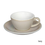 Loveramics  Egg Flat White Cup & Saucer 150ml - Ivory