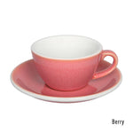 Loveramics  Egg Flat White Cup & Saucer 150ml - Berry