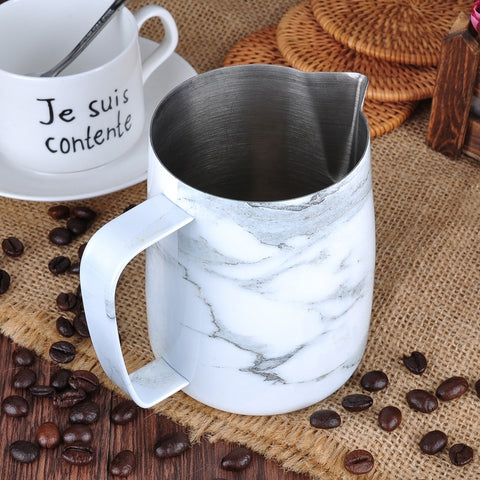 Barista space pitcher 350ml - Marble