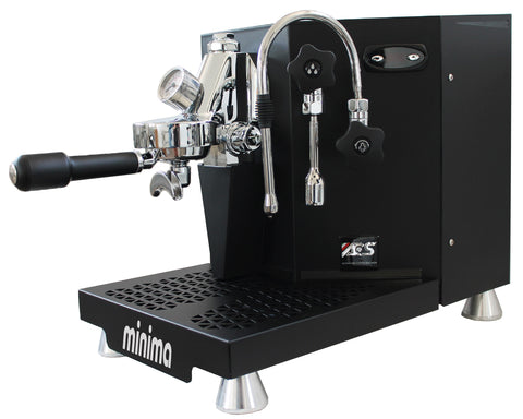 ACS Minima Dual Boiler Coffee Machine - Black