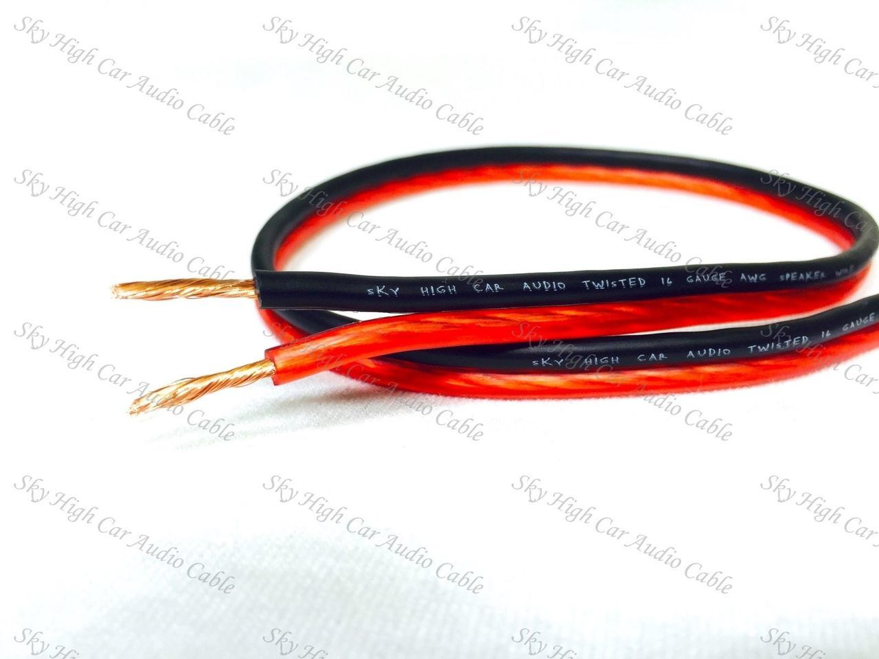 Sky High Car Audio 16 Gauge OFC Speaker Wire