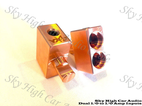 Sky High Car Audio Copper Dual 1/0 Amplifier Inputs